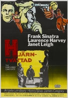 The Manchurian Candidate - Danish Movie Poster (xs thumbnail)