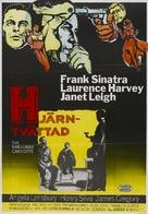 The Manchurian Candidate - Danish Movie Poster (xs thumbnail)