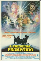 The Princess Bride - Brazilian Movie Poster (xs thumbnail)