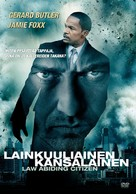 Law Abiding Citizen - Finnish DVD movie cover (xs thumbnail)