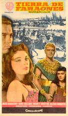 Land of the Pharaohs - Spanish Movie Poster (xs thumbnail)