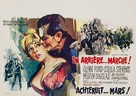 Advance to the Rear - Belgian Movie Poster (xs thumbnail)