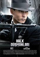 Public Enemies - Turkish Movie Poster (xs thumbnail)