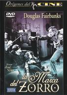 The Mark of Zorro - Spanish DVD cover (xs thumbnail)
