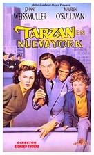 Tarzan's New York Adventure - Spanish VHS cover (xs thumbnail)