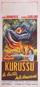 Curucu, Beast of the Amazon - Italian Movie Poster (xs thumbnail)