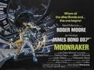 Moonraker - British Movie Poster (xs thumbnail)