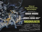 Moonraker - British Movie Poster (xs thumbnail)