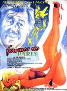 Femmes de Paris - French Movie Poster (xs thumbnail)