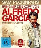 Bring Me the Head of Alfredo Garcia - German Movie Cover (xs thumbnail)
