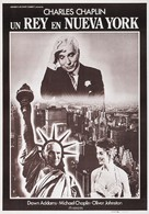 A King in New York - Spanish Re-release movie poster (xs thumbnail)
