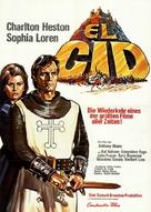 El Cid - German Re-release movie poster (xs thumbnail)