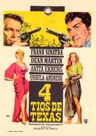 4 for Texas - Spanish Movie Poster (xs thumbnail)