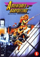 Adventures in Babysitting - Dutch DVD cover (xs thumbnail)