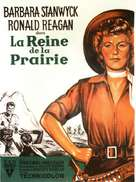 Cattle Queen of Montana - French Movie Poster (xs thumbnail)