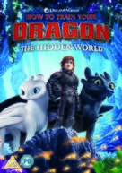 How to Train Your Dragon: The Hidden World - British DVD movie cover (xs thumbnail)