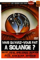 Cosa avete fatto a Solange? - French DVD movie cover (xs thumbnail)