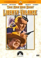 The Man Who Shot Liberty Valance - DVD cover (xs thumbnail)