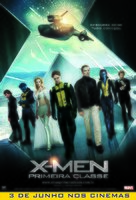 X-Men: First Class - Brazilian Movie Poster (xs thumbnail)