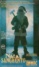 Silent Night, Deadly Night - Brazilian Movie Cover (xs thumbnail)