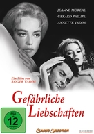 Les liaisons dangereuses - German Movie Cover (xs thumbnail)