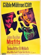 The Misfits - French Movie Poster (xs thumbnail)