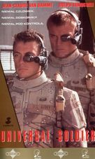 Universal Soldier - Polish VHS movie cover (xs thumbnail)