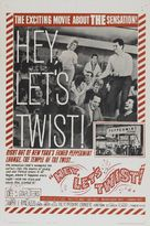 Hey, Let's Twist - Movie Poster (xs thumbnail)