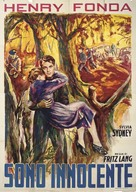 You Only Live Once - Italian Movie Poster (xs thumbnail)