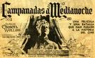 Chimes at Midnight - Spanish Movie Poster (xs thumbnail)