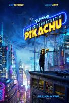 Pokémon: Detective Pikachu - German Movie Poster (xs thumbnail)