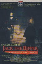 Jack the Ripper - German VHS movie cover (xs thumbnail)