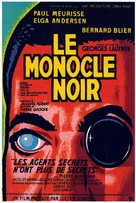 Monocle noir, Le - French Movie Poster (xs thumbnail)