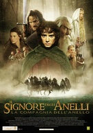 The Lord of the Rings: The Fellowship of the Ring - Italian Movie Poster (xs thumbnail)