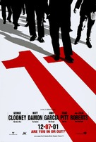 Ocean's Eleven - Teaser movie poster (xs thumbnail)