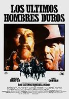 The Last Hard Men - Spanish Movie Poster (xs thumbnail)