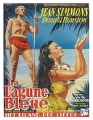 The Blue Lagoon - Belgian Movie Poster (xs thumbnail)