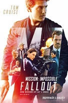 Mission: Impossible - Fallout - Swedish Movie Poster (xs thumbnail)