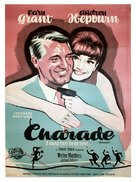 Charade - Danish Movie Poster (xs thumbnail)