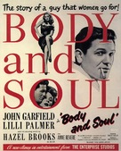 Body and Soul - Movie Poster (xs thumbnail)