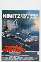 The Final Countdown - Belgian Movie Poster (xs thumbnail)