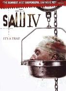 Saw IV - DVD movie cover (xs thumbnail)