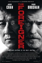 The Foreigner - Swedish Movie Poster (xs thumbnail)