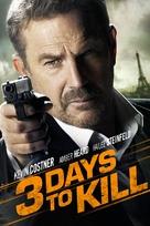 Three Days to Kill - DVD cover (xs thumbnail)