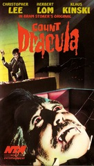 Nachts, wenn Dracula erwacht - British VHS cover (xs thumbnail)