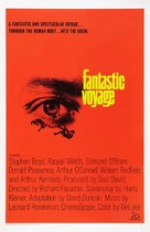 Fantastic Voyage - Theatrical movie poster (xs thumbnail)