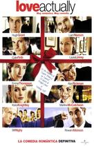 Love Actually - Spanish Movie Poster (xs thumbnail)