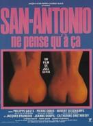 San-Antonio ne pense qu'à ça - French Movie Poster (xs thumbnail)