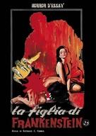Frankenstein's Daughter - Italian DVD movie cover (xs thumbnail)