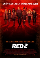 RED 2 - Turkish Movie Poster (xs thumbnail)